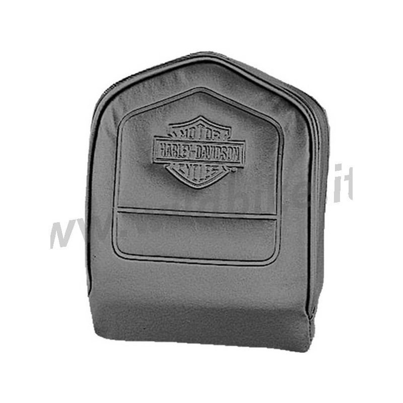kissen mit hd logo f r harley davidson beifahrer doppel taschen. Black Bedroom Furniture Sets. Home Design Ideas