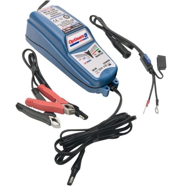 chargeurs optimate 5 tm 222 voltmatic pour batterie moto. Black Bedroom Furniture Sets. Home Design Ideas