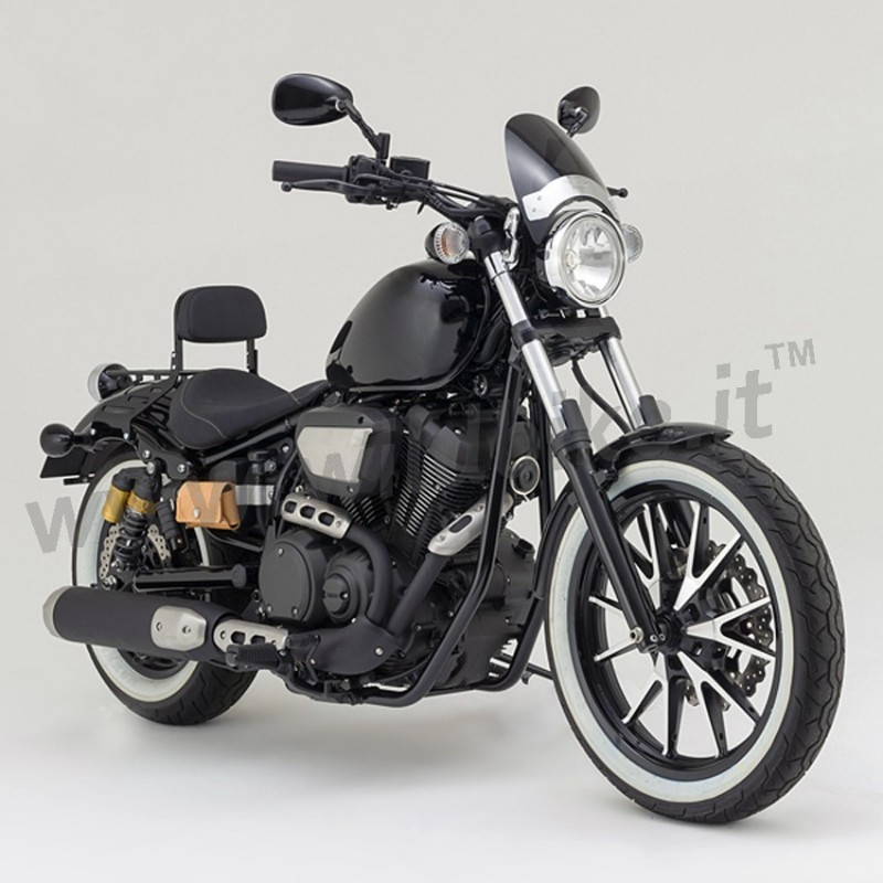 windshield mini flyscreen for yamaha xv 950. Black Bedroom Furniture Sets. Home Design Ideas
