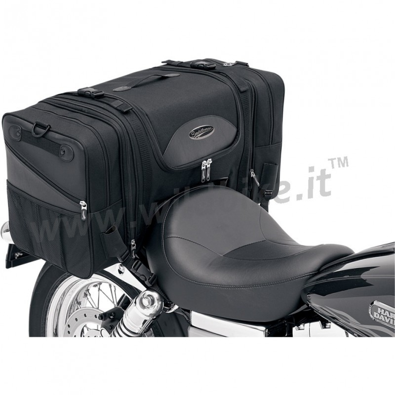 sac de voyage de luxe ts3200 sissy bar porte bagage pour moto. Black Bedroom Furniture Sets. Home Design Ideas