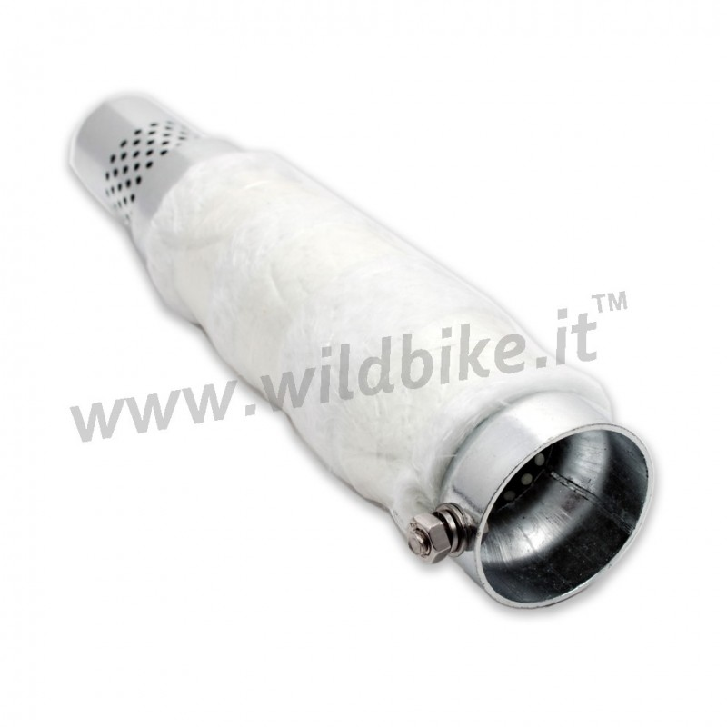how to make a motorcycle exhaust baffle