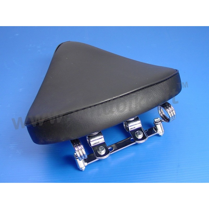 Custom Motorcycle Spring-Mounted Solo Seats & Replacement Saddles ...