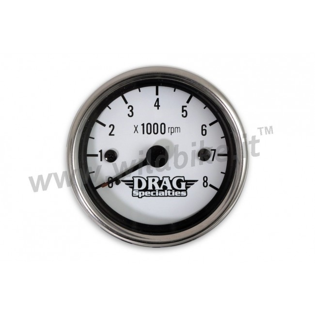 electronic mini tachometer steel 60 mm white face custom motorcycle harley electronic mini tachometer steel 60 mm white face custom mooneyes tach wiring diagram at couponss.co