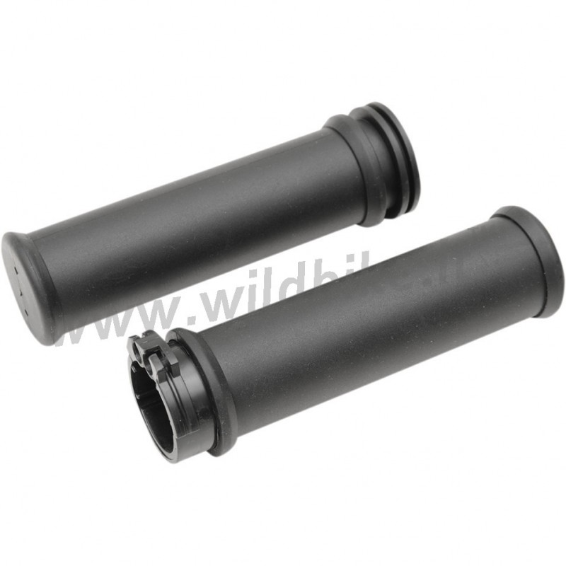 Harley Davidson Cable Kits : Kit grips black oem style with control and cable throttle