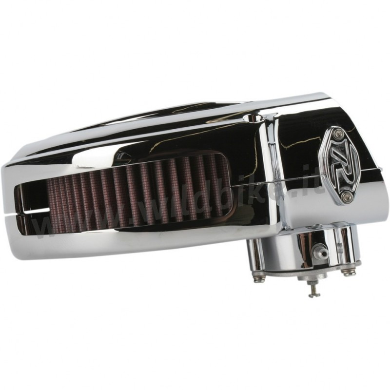 Harley Hypercharger Air Cleaner: AIR FILTER HYPERCHARGER BOX KIT CHROME HARLEY DAVIDSON XL