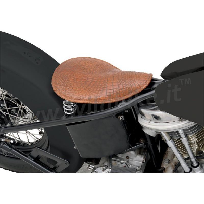 Single spring seat