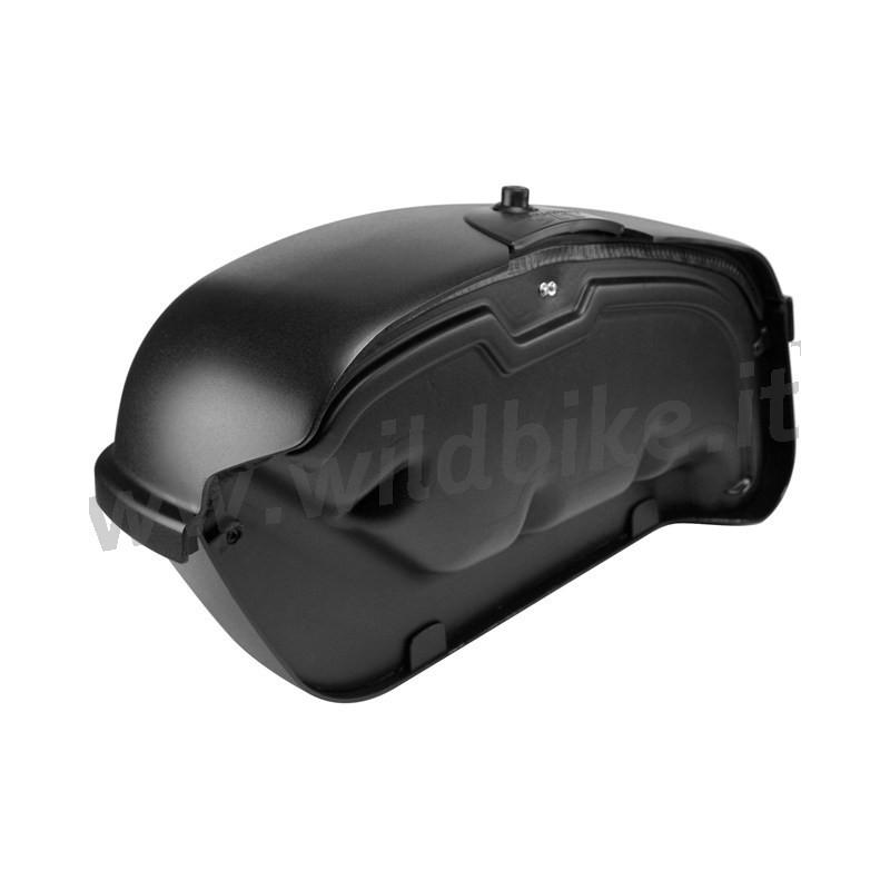 Borse A Tracolla Per Moto : Borse laterali rigide nere satinate hardstreet slimbags