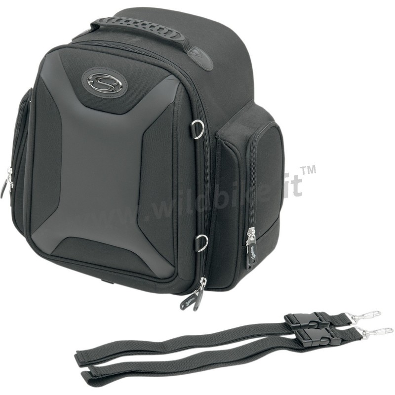 sacoche de voyage ftb1500 sport pour sissybar porte bagage moto custom et harley. Black Bedroom Furniture Sets. Home Design Ideas
