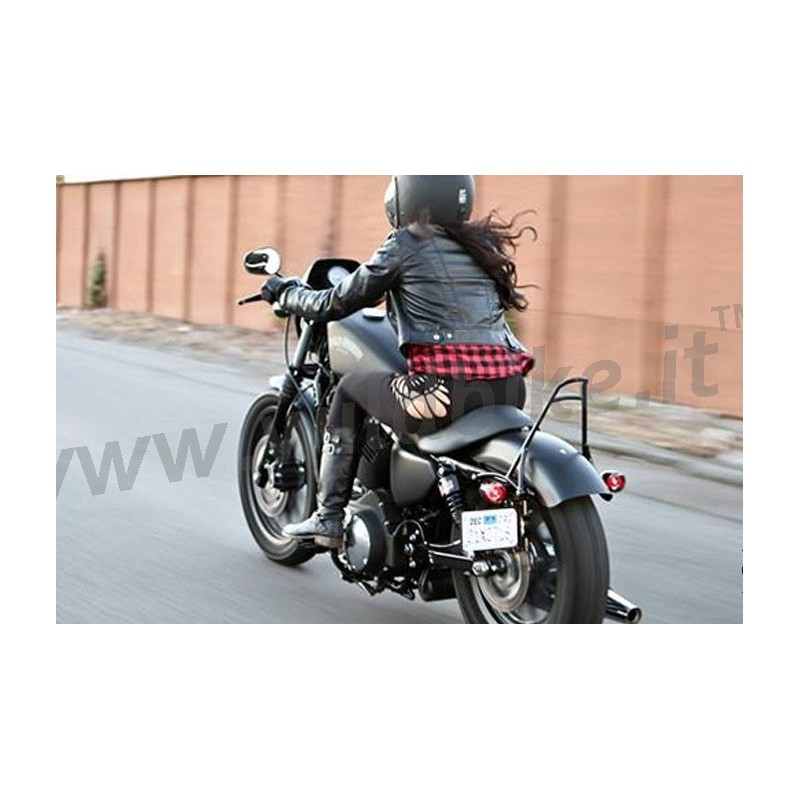 sissy bar short burly without cushion pad harley davidson xl sportster 39 04 39 17. Black Bedroom Furniture Sets. Home Design Ideas