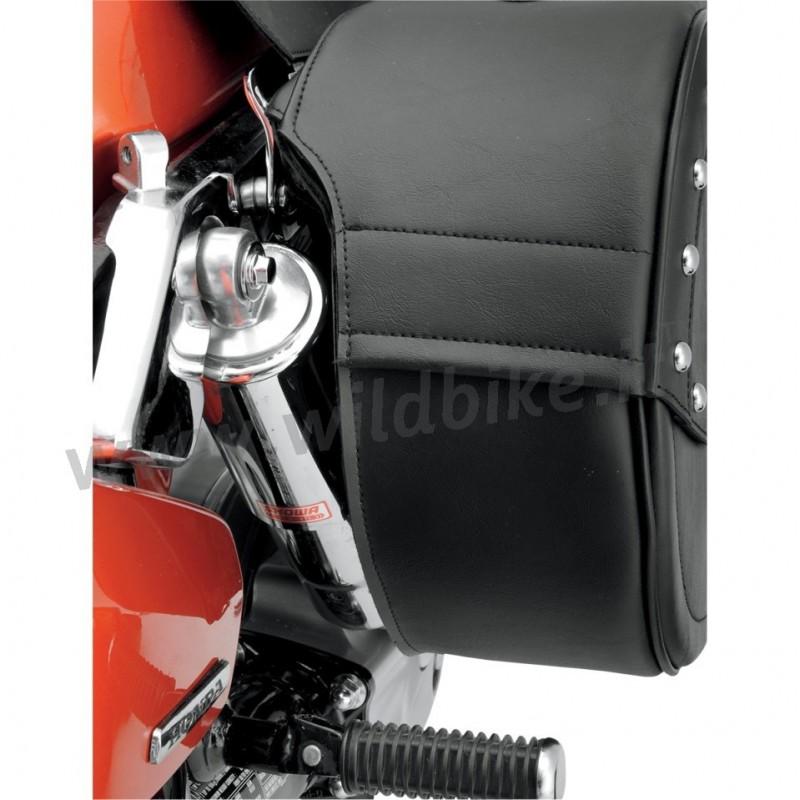 satteltaschen cruiser teardrop cut out harley davidson xl. Black Bedroom Furniture Sets. Home Design Ideas
