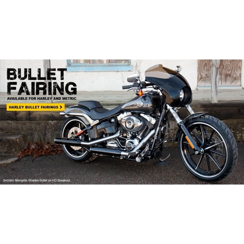 Bullet Verkleidung Windschutzscheibe F 252 R Harley Davidson
