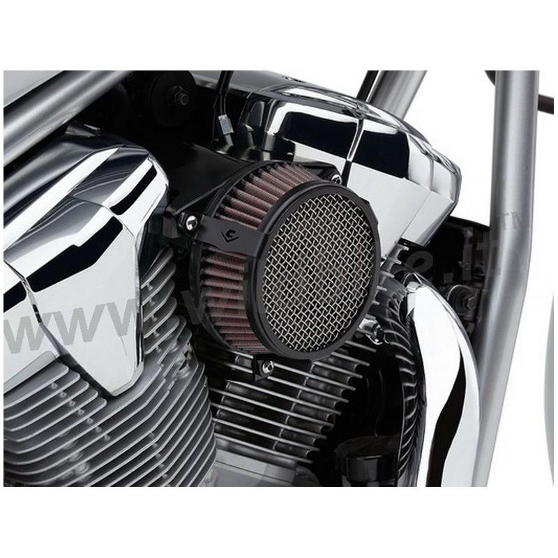 Cobra Air Cleaner : Air cleaner cobra black plain intake kit yamaha xv