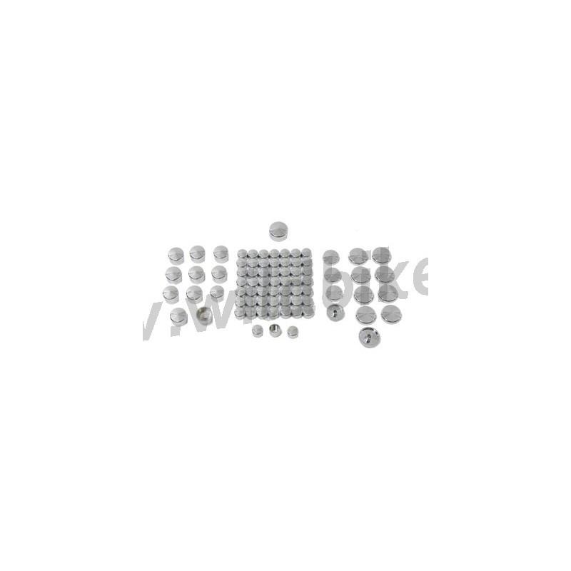 schraubenkappen chrom 77 st u00dcck abdeckung motor