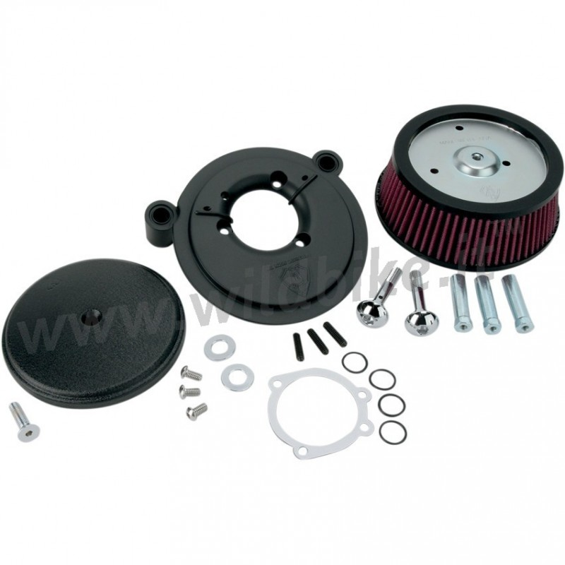 Harley Davidson Air Filter Kits : Air filter kit arlen ness big sucker stage i black