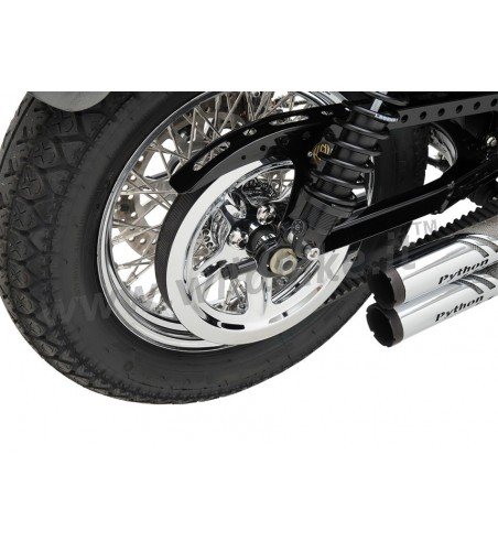 CHROME PULLEY COVER FOR HARLEY DAVIDSON XL SPORTSTER '04-'15