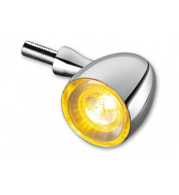 TURN SIGNAL BULLET 1000 CHROME ECE APPROVED CUSTOM MOTORCYCLE AND HARLEY