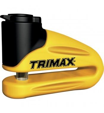 ANTIFURTO BLOCCA DISCO TRIMAX COL.GIALLO- PERNO 10 MM.