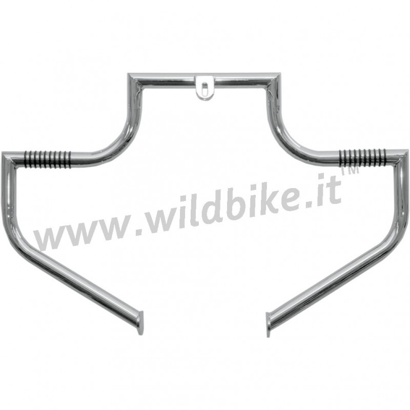 engine guard lindby linbar tube chrome harley davidson
