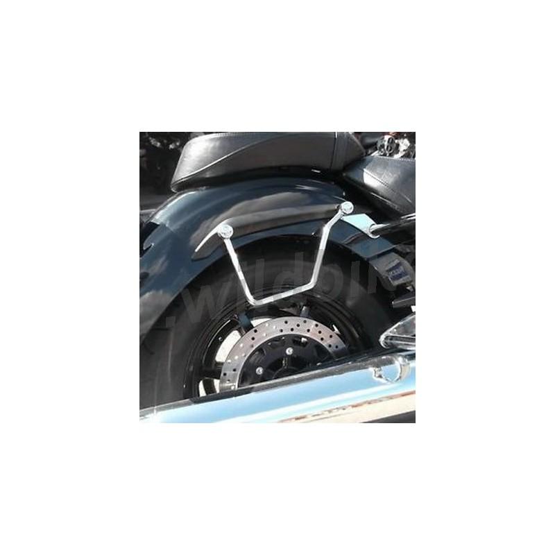 saddlebags support for yamaha xvs 1300 midnight star. Black Bedroom Furniture Sets. Home Design Ideas