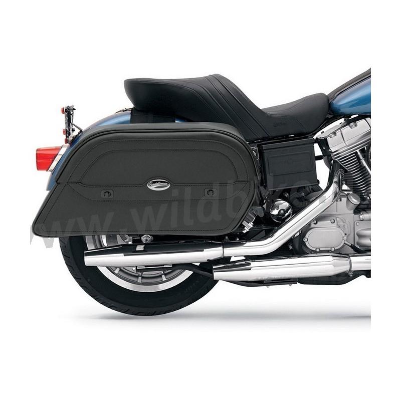 sacoches c t jumbo extra oblique pour moto custom et harley. Black Bedroom Furniture Sets. Home Design Ideas