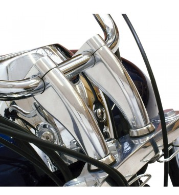 "RISER HANDLEBAR 2"" CHROME FOR TRIUMPH THUNDERBIRD SPORT"