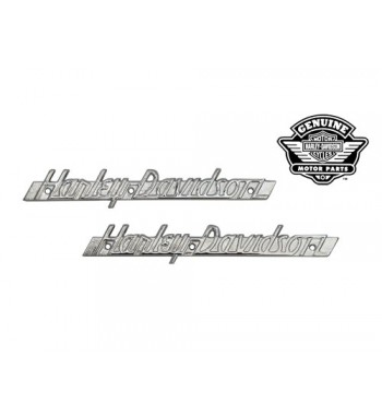 EMBLEMS GAS TANK 61774-51 WITH CHROME LETTERING HARLEY DAVIDSON