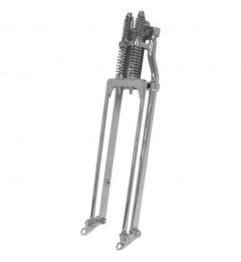 "FORK SPRINGER LENGTH +2"" CHROME FOR HARLEY DAVIDSON"