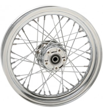 "WHEELS REPLACEMENT LACED FRONT 40 SPOKES 16"" X 3"" FOR HARLEY DAVIDSON FLST SOFTAIL '00-'06"