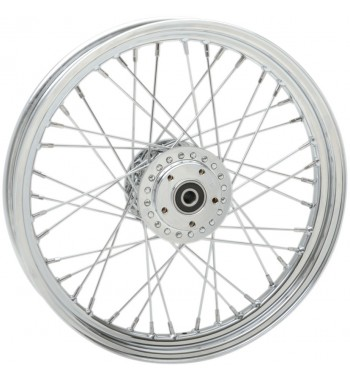 """WHEELS REPLACEMENT LACED FRONT 40 SPOKES 19"""" X 2.5"""" FOR HARLEY DAVIDSON XL SPORTSTER/DYNA LOW RIDER '00-'04"""
