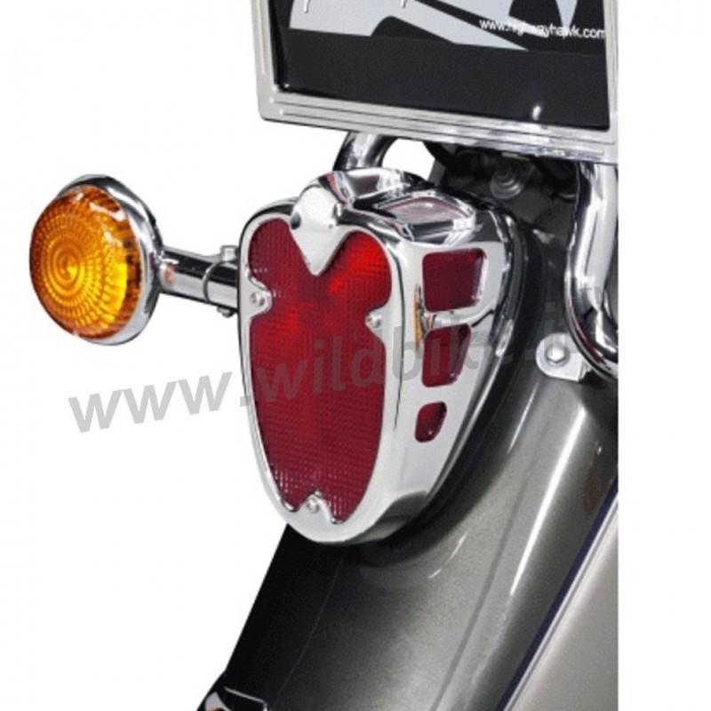 Taillight Cover Chrome For Yamaha Xvs 650 1100 Dragstar