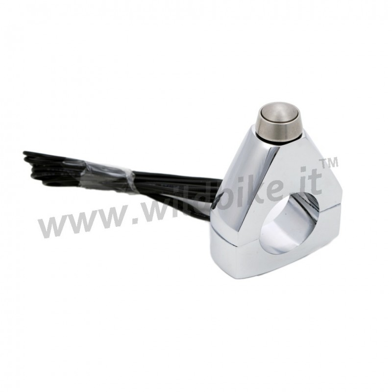 Button Switch Chrome On Off Handlebar 1 Quot Headlights