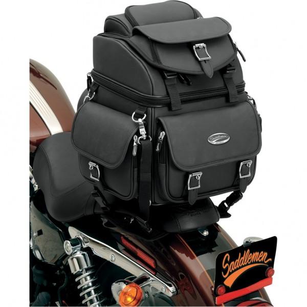 Voyage Deluxe Davidson Cuir Sac Custom Moto En Et De Br1800ex Harley Combination Pour OkXPZiu