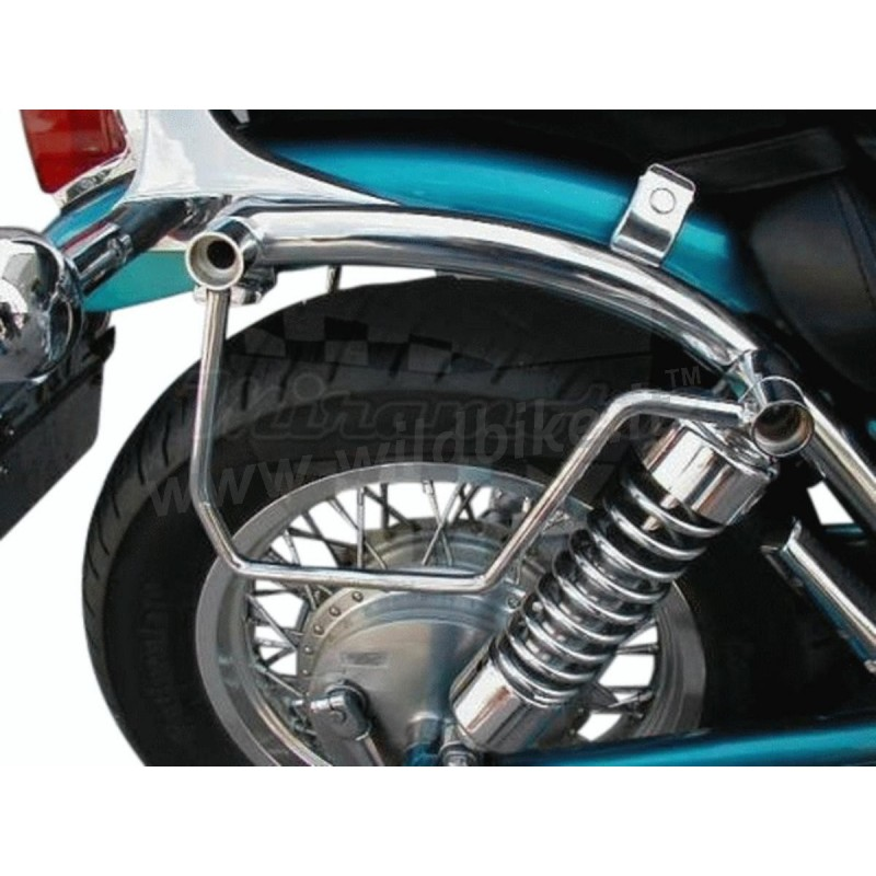 SADDLEBAGS SUPPORT FRAMES CHROME for SUZUKI VS 600 800 GL INTRUDER