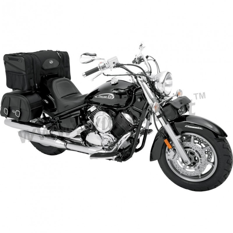 borsa travel ts3200 de luxe per sissybar e portapacchi moto custom e harley davidson. Black Bedroom Furniture Sets. Home Design Ideas