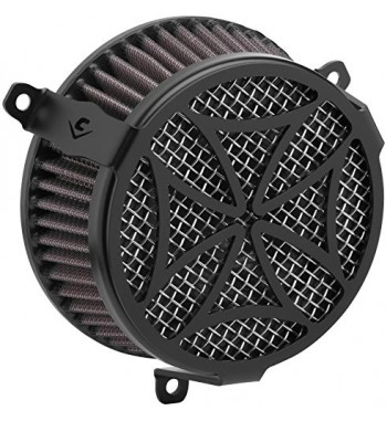 AIR CLEANER COBRA BLACK MALTESE CROSS INTAKE KIT YAMAHA XV 950