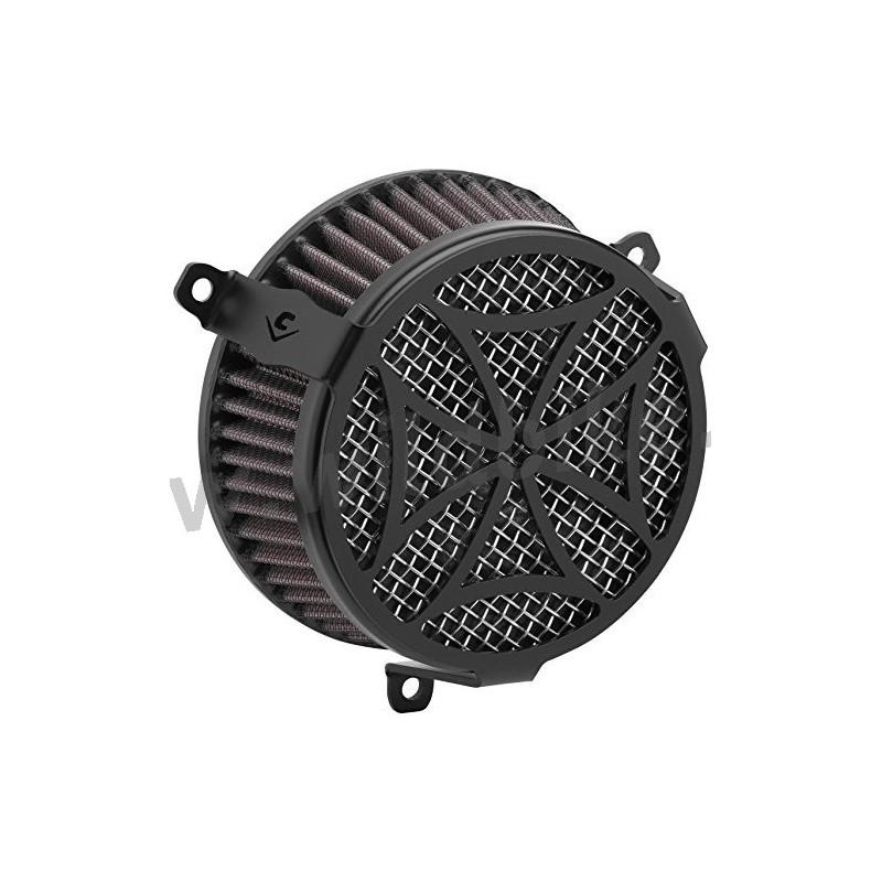 Maltese Cross Air Cleaner : Air cleaner cobra black maltese cross intake kit yamaha xv