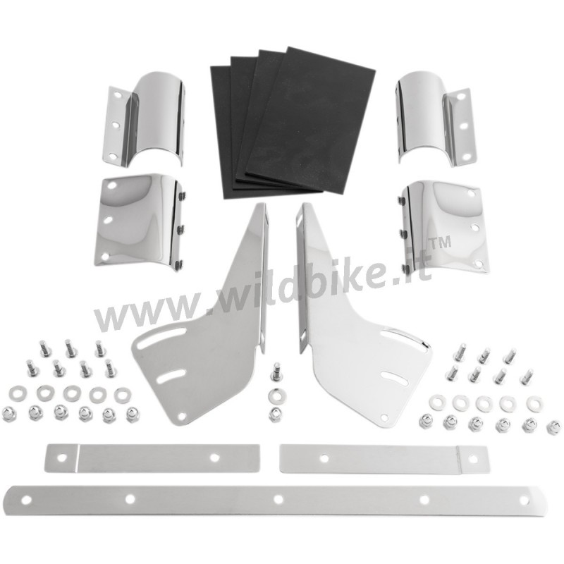 pare brise falcon 16 clair standard effacer fourche pour custom cruiser motocyclette. Black Bedroom Furniture Sets. Home Design Ideas