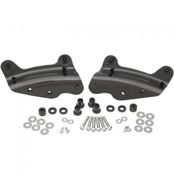 KIT DOCKING HARDWARE 4 POINT BLACK FOR HARLEY DAVIDSON TOURING '09-'13