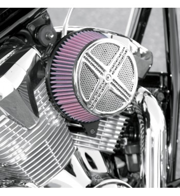AIR FILTER BIG AIR KIT XXX CHROME FOR YAMAHA XV 950