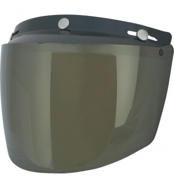 VISOR SHIELD VINTAGE MOUNT 3 POINTS GOLD FOR HELMETS DEMI-JET