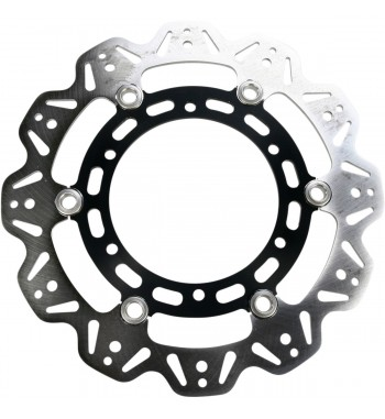 FRONT BRAKE ROTOR EBC VEE STAINLESS STEEL BLACK FOR YAMAHA XVS 950 MIDNIGHT STAR