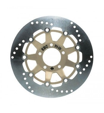 FRONT BRAKE ROTOR REPLACEMENT SERIES SOLID ROUND EBC FOR HARLEY DAVIDSON XL SPORTSTER '14-'17