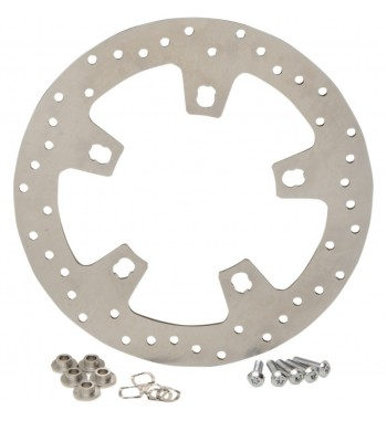 FRONT BRAKE ROTOR STAINLESS STEEL DRILLED FOR HARLEY DAVIDSON TOURING '14-'17