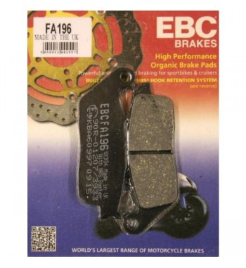 FRONT BRAKE PAD DRAG ORGANIC KEVLAR® FOR HONDA VT 600C SHADOW '94-'03