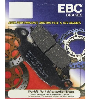FRONT BRAKE PAD DRAG ORGANIC KEVLAR® FOR KAWASAKI VN800 '98-'06