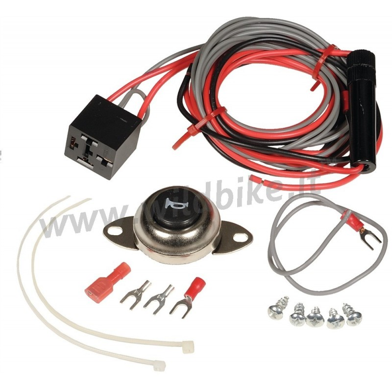 Complete Wiring Kit Air Horn For Cars Motorcycle And