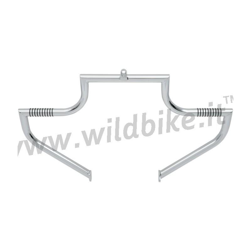 tubo paramotore lindby linbar cromato harley davidson flh