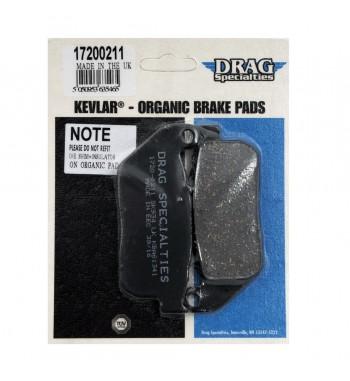 FRONT BRAKE PAD DRAG ORGANIC KEVLAR® FOR HARLEY DAVIDSON XL SPORTSTER '04-'13