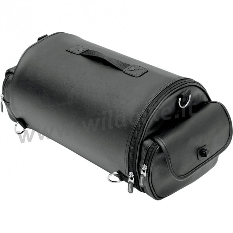 Roll Cylindrical Bag Ex1000 Leather For Sissybar And