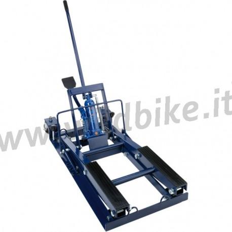 Ponte sollevatore alzamoto centrale 680 kg moto custom e for Sollevatore harley